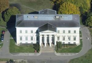 Légifotó a Teleki-kastélyról