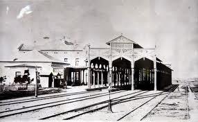 Püspökladányi vasútállomás régi csarnoka