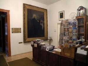 Liszt Ferenc Emlékmúzeum és Kutatóközpont előtere