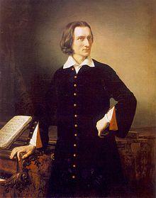 Liszt Ferenc portré