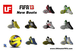 FIFA 13-New Boots