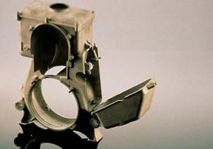 KS 43 porlasztója magnézium ötvözetből készült.