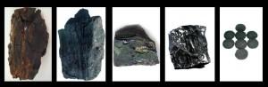 Lignit, barnaszén,feketeszén,antracit,brikett