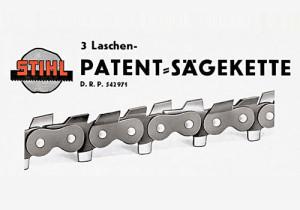 Stihl féle patent fűrészlánc