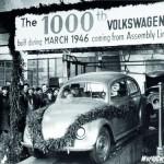 Ivan Hirst és az 1000. Volkswagen