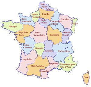Franciaország régiói