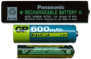 NiCd akkumulátor