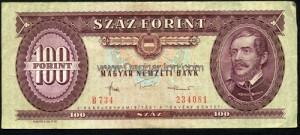 Régi 100 forintos papírpénz