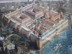diocletianus-palotája