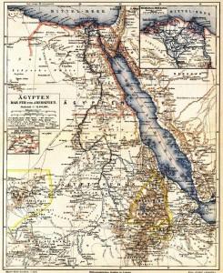 egyiptom térképe ma