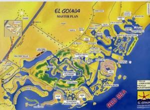 el gouna térkép