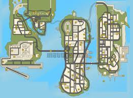 gta 3 térkép