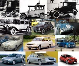 Renault autók a kezdetektől napjainkig