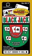 Black Jack sorsjegy