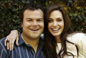 Jack Black és Angelina Jolie