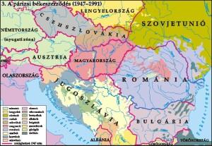 A II. Viágháború békeszerződés több országot hátrányosan érintett