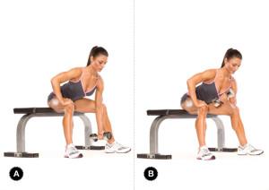 koncentrált bicepsz