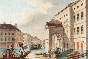 Budapesti_árvíz_John_Hürlimann_1838