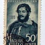 Bélyeg Kossuthról
