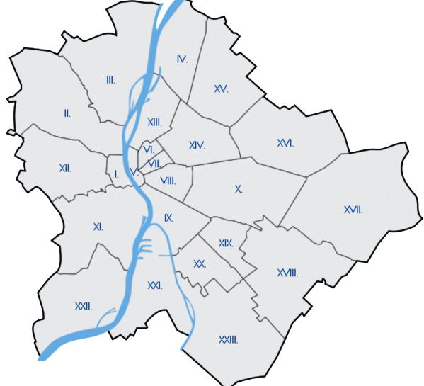 Budapest Kerületei