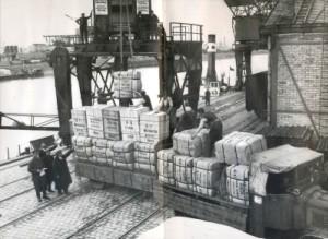 Csepeli vámmentes kikötő (1930.)
