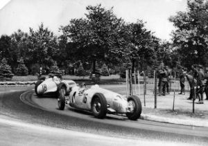 Gyorsasági GP a Népligetben (1936.)