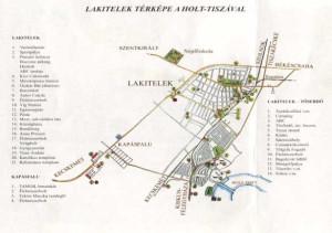 Lakitelek Térkép
