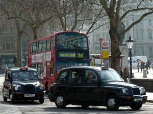A londoni taxi fotó Bárd Noémi Polli