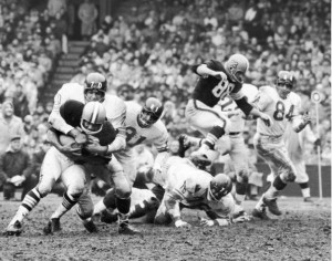 New York Giants In Action