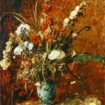 Munkácsy: Virágcsendélet