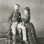 Munkácsy Mihály és felesége, Cecile
