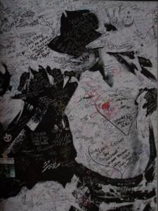 Michael Jackson emlékfala