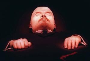 Lenin balzsamozott teste