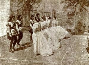 Régi palotás tánc