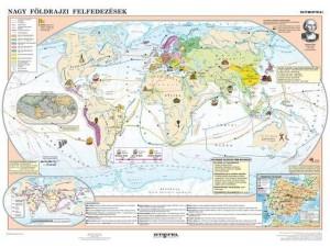 Nagy felfedezések kora térképen