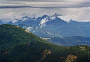 A Kárpátok hegyei