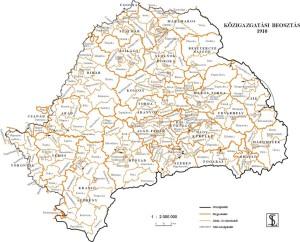 Románia, közigazgatási felosztás