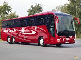 A távolsági buszok mind szóló buszok