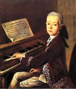 A fiatal Mozart