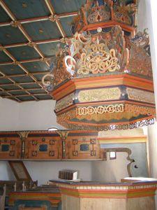 Felső-Tisza vidéki templom belseje