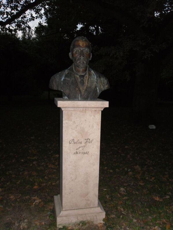 Bolza Pál szobra, Szarvasi Arborétum