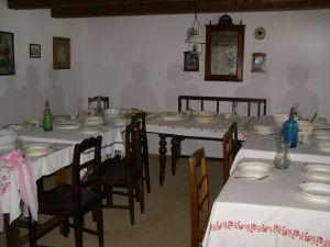 Nyugat-Dunántúli parasztház belső