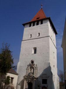 Csonka torony Nagyszalontán